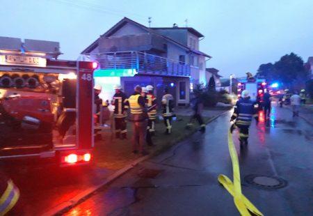 Feuerwehr Eschbronn im Einsatz Wohnungsbrand