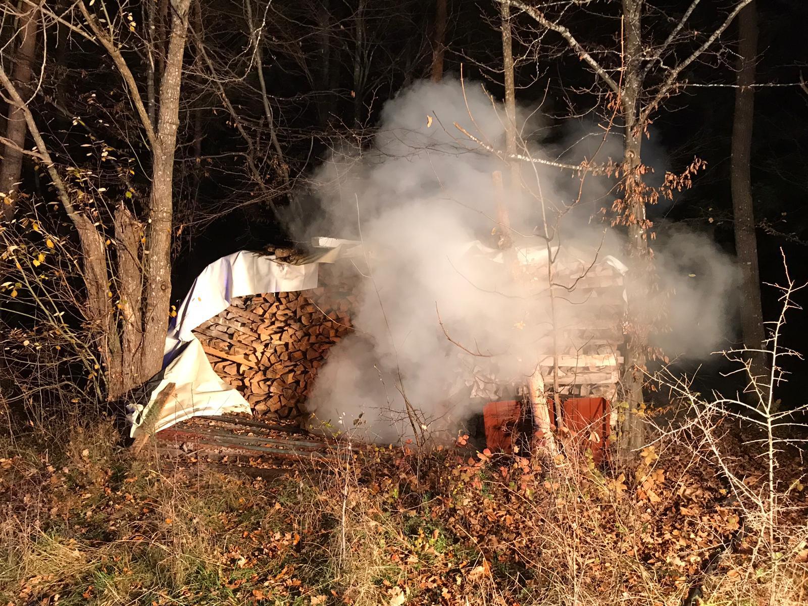 Feuerwehr Eschbronn Einsatz klein Brand