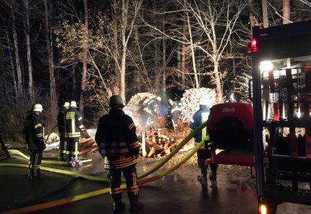 Feuerwehr Eschbronn Einsatz Kleinbrand