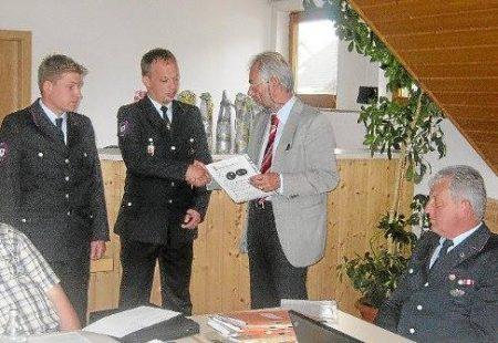 Erste Führung der Freiwilligen Feuerwehr Eschbronn