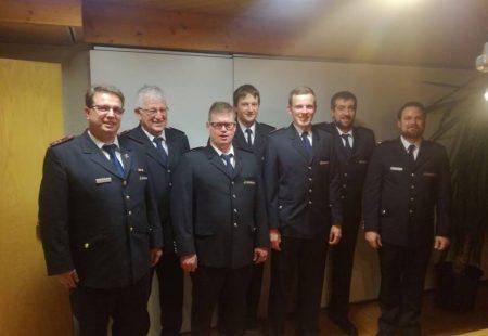 Beförderungen Hauptversammlung Feuerwehr Eschbronn