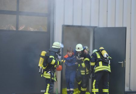 Jahreshauptübung 2016 Feuerwehr Eschbronn