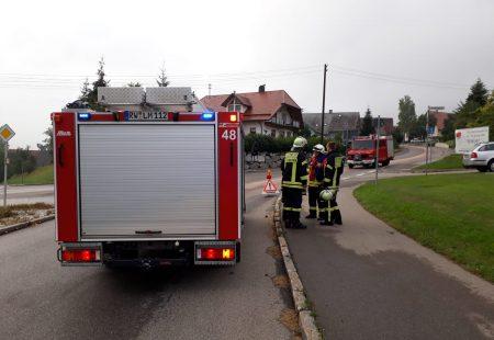 Hilfeleistung Ölspur Feuerwehr Eschbronn