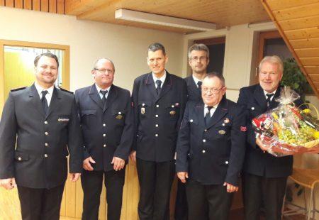 Feuerwehr Eschbronn Hauptversammlung 2017