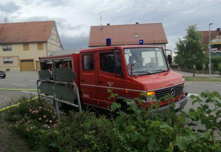 Alarmübung 2017 Feuerwehr Eschbronn