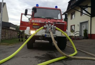LF8 Feuerwehr Eschbronn