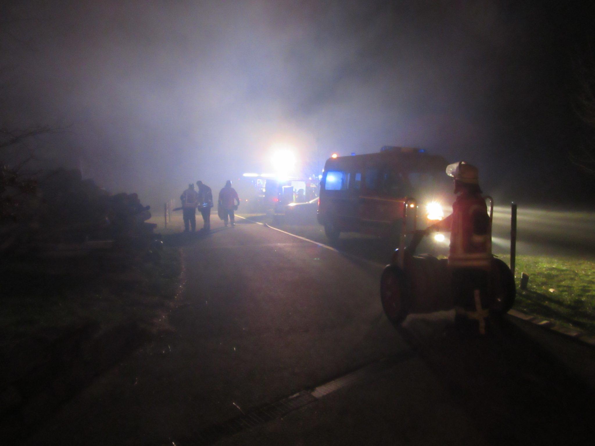Gemeinschaftsübung Feuerwehr Eschbronn Feuerwehr Dunningen