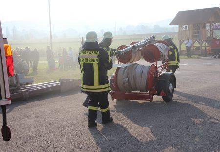 Jahreshauptübung 2018 Feuerwehr Eschbronn