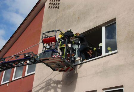 Jahreshauptübung der Feuerwehr Eschbronn 2019