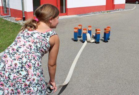 Kinderferienprogramm 2017 Feuerwehr Eschbronn