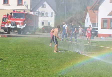 Ferienprogramm Feuerwehr Eschbronn