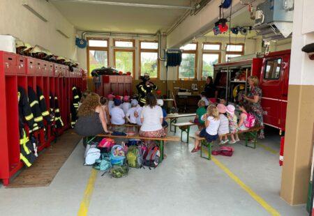 Kindergärten zu Besuch
