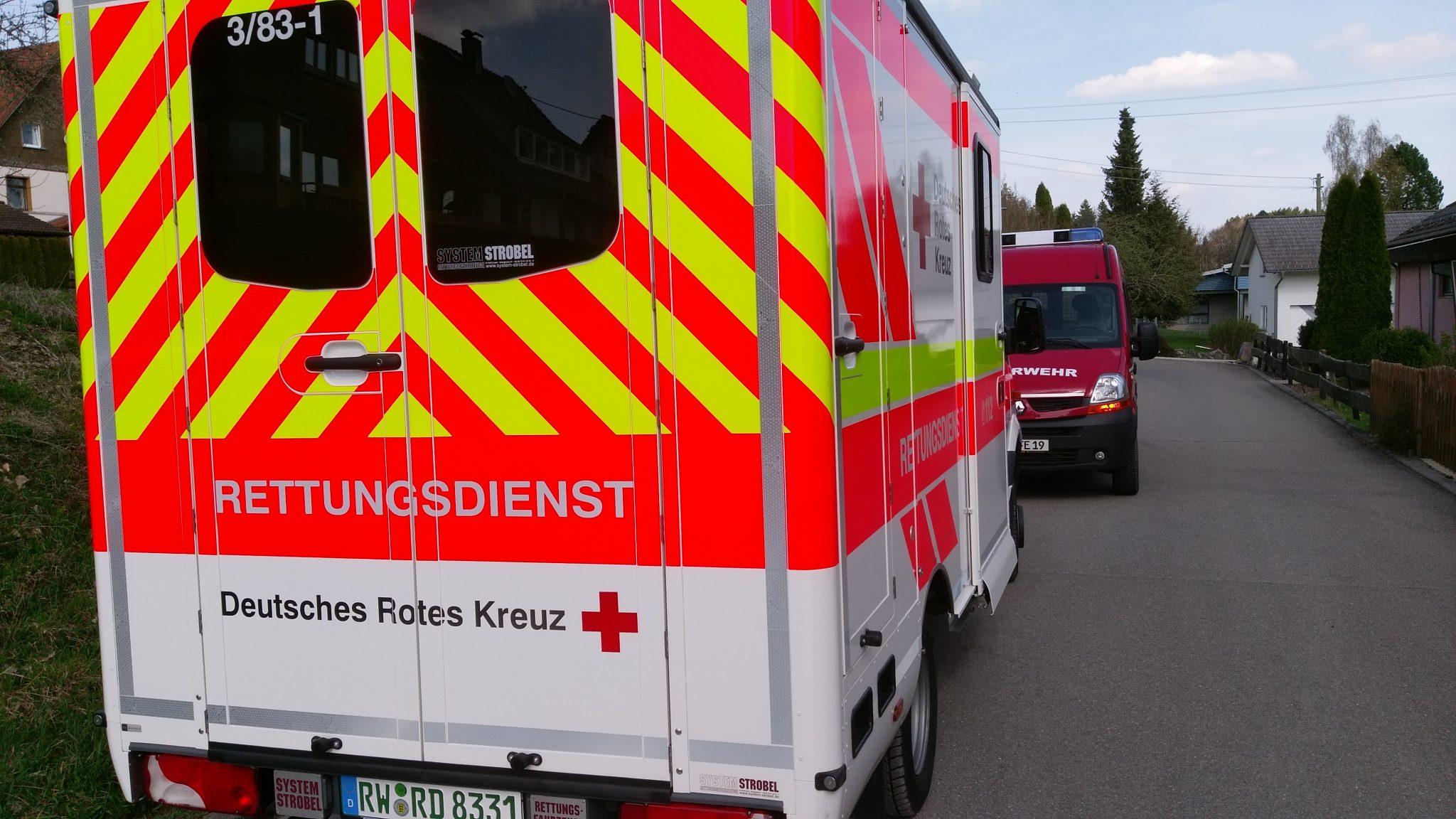 Feuerwehr Eschbronn im Unterstützungseinsatz
