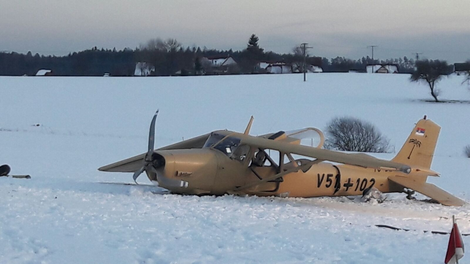 Flugzeugabsturz Eschbronn